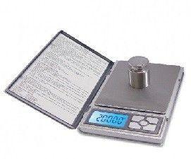 Kenex Notebook Pocket Scale 0.1/2000G